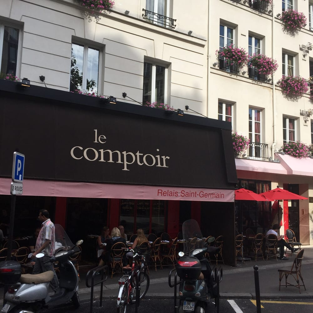 It 39 s the restaurant of the hotel next door yelp - Le comptoir paris restaurant reservations ...