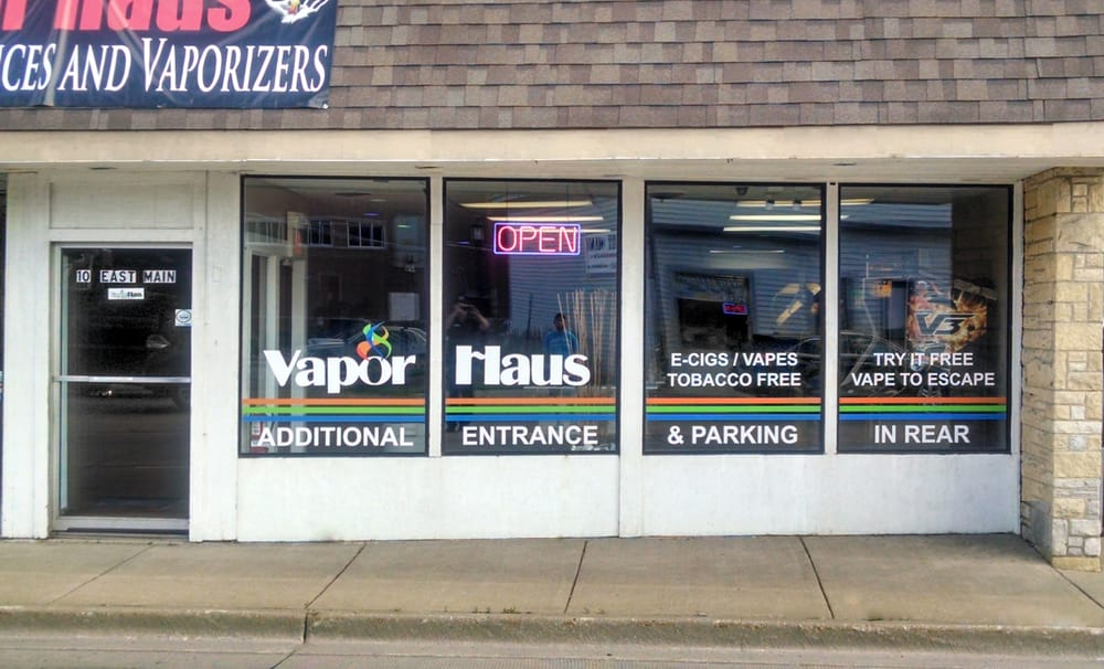 Vapor Haus - Dundee: 10 E Main St, East Dundee, IL