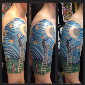 Rime Of The Ancient Mariner Tattoo