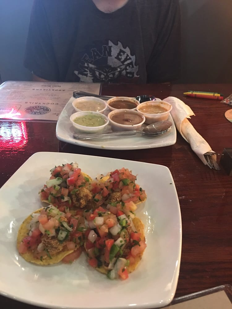 Welcome wagon on your first visit you get this free the for Fish city grill