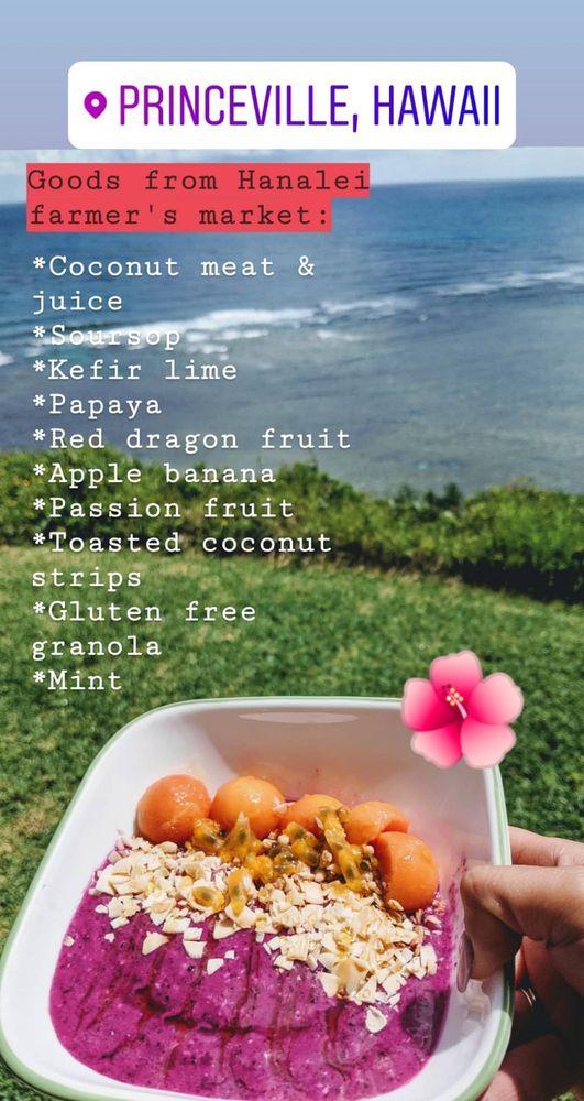 Hanalei Farmer's Market: 5299 Kuhio Hwy, Hanalei, HI