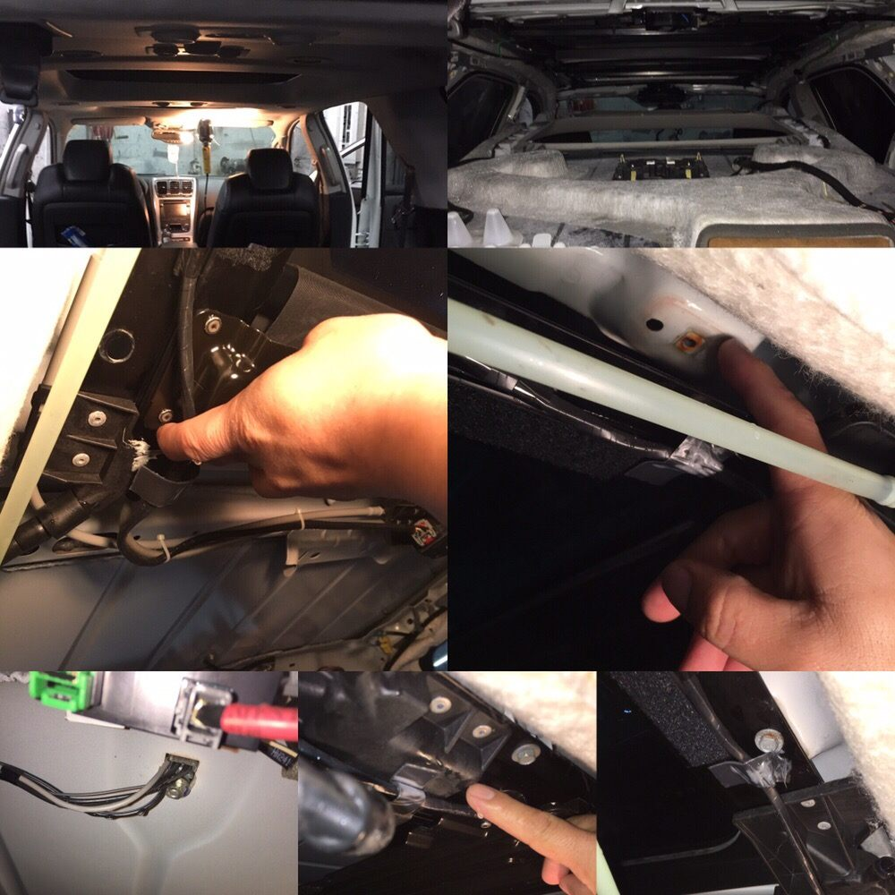 2010 Gmc Acadia With Panoramic Roof Repairing Leaking