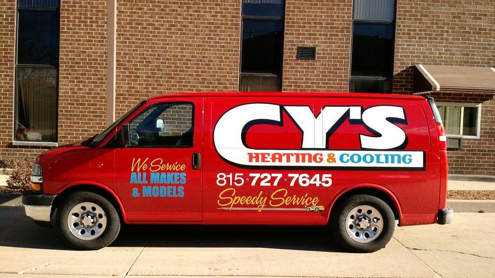 Cy's Heating & Cooling: 1120 E Washington St, Joliet, IL
