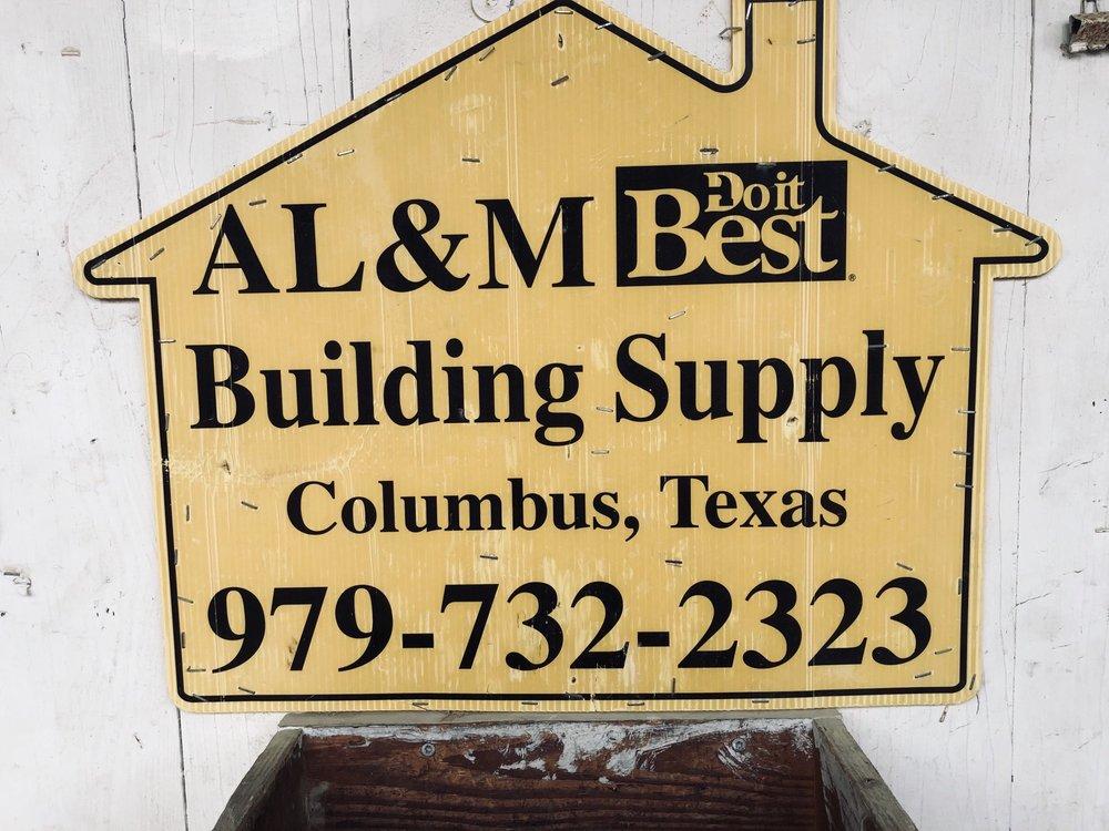 A L & M DO It Best Building Supply: 538 Walnut St, Columbus, TX