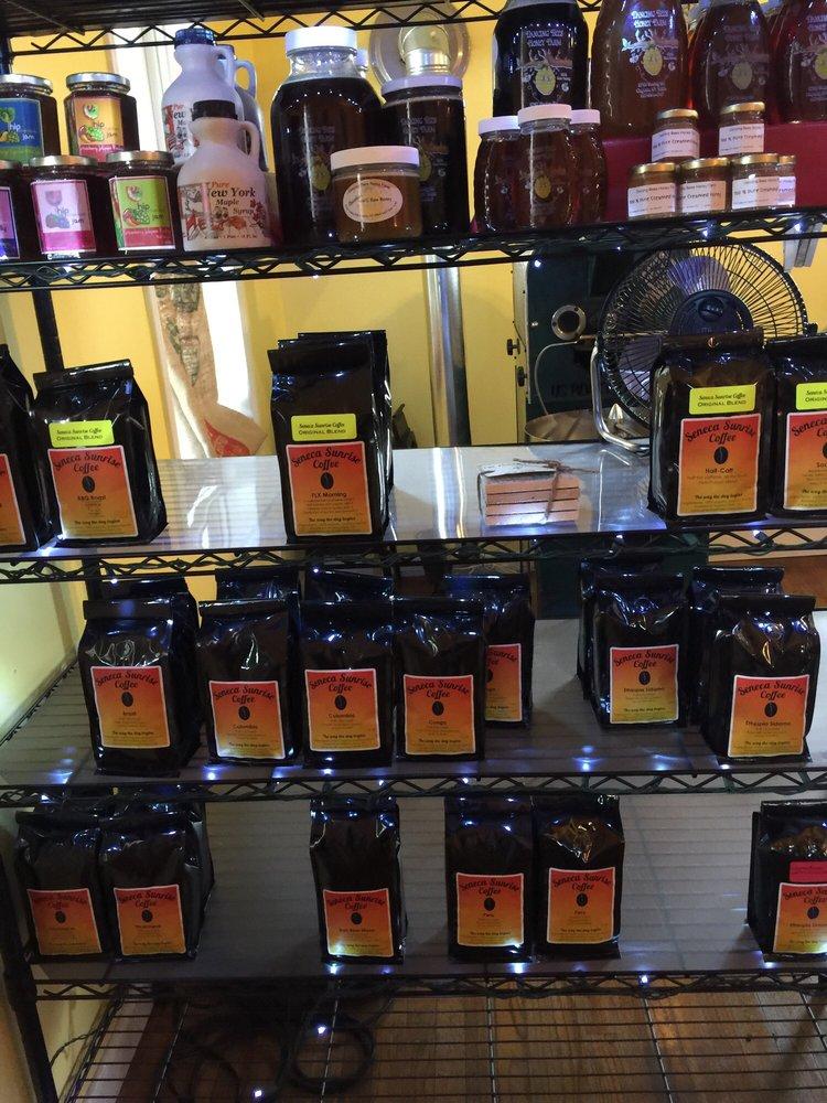 Seneca Sunrise Coffee: 806 Decatur St, Watkins Glen, NY