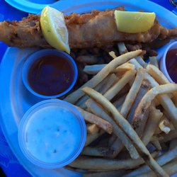 Photo Of Harbor Fish Cafe Carlsbad Ca United States Clam Strip Combo