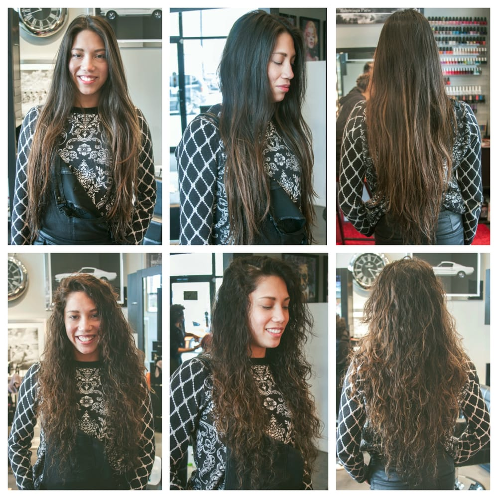 Loose Wave Perm With Olaplex At Eleventh Hour Salon Chicago Yelp