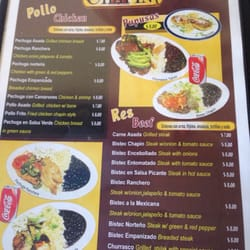 Photo Of Chapin Guatemalan Mexican Restaurant Princeton Nj United States Menu2
