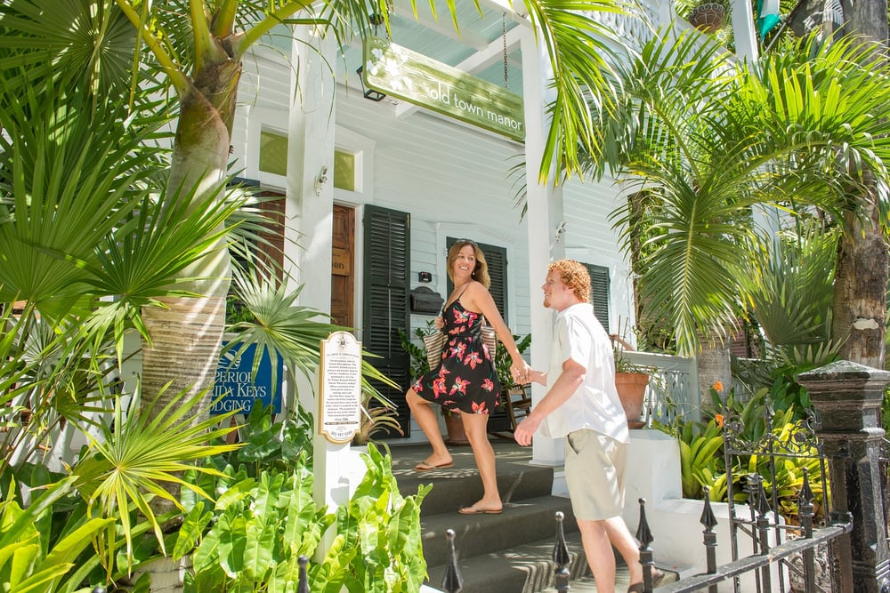 front of old town manor in key west yelp. Black Bedroom Furniture Sets. Home Design Ideas