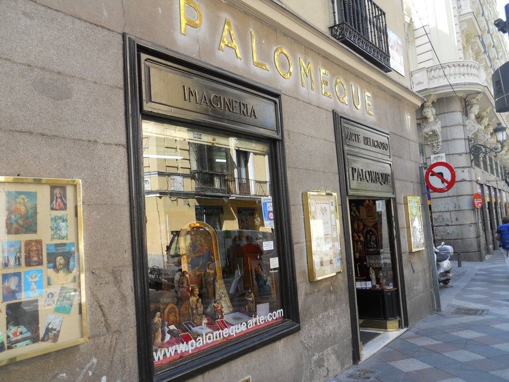 Palomeque arts crafts calle del arenal 17 sol for Calle sol madrid