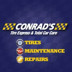 Conrad's Tire Express & Total Car Care - 11 Reviews - Tires