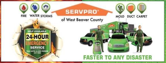 SERVPRO of West Beaver County: 1012 Pennsylvania Ave, Monaca, PA