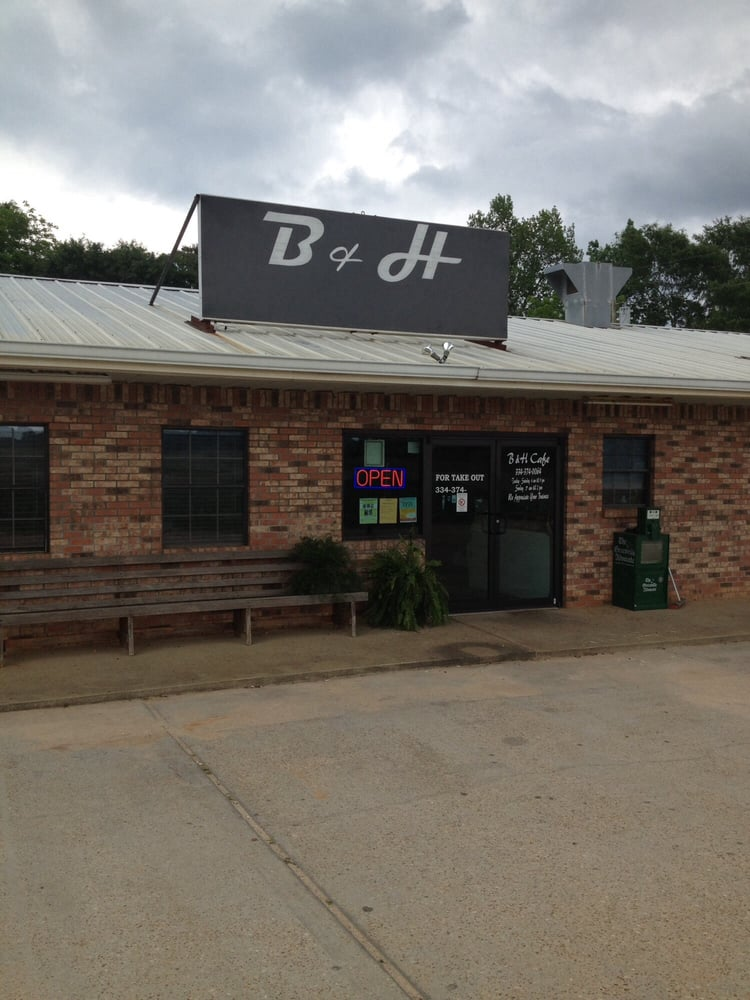 B & H Cafe: 929 Crum Foshee Hwy, McKenzie, AL