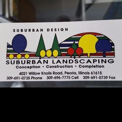 Photo Of Suburban Landscaping   Peoria, IL, United States
