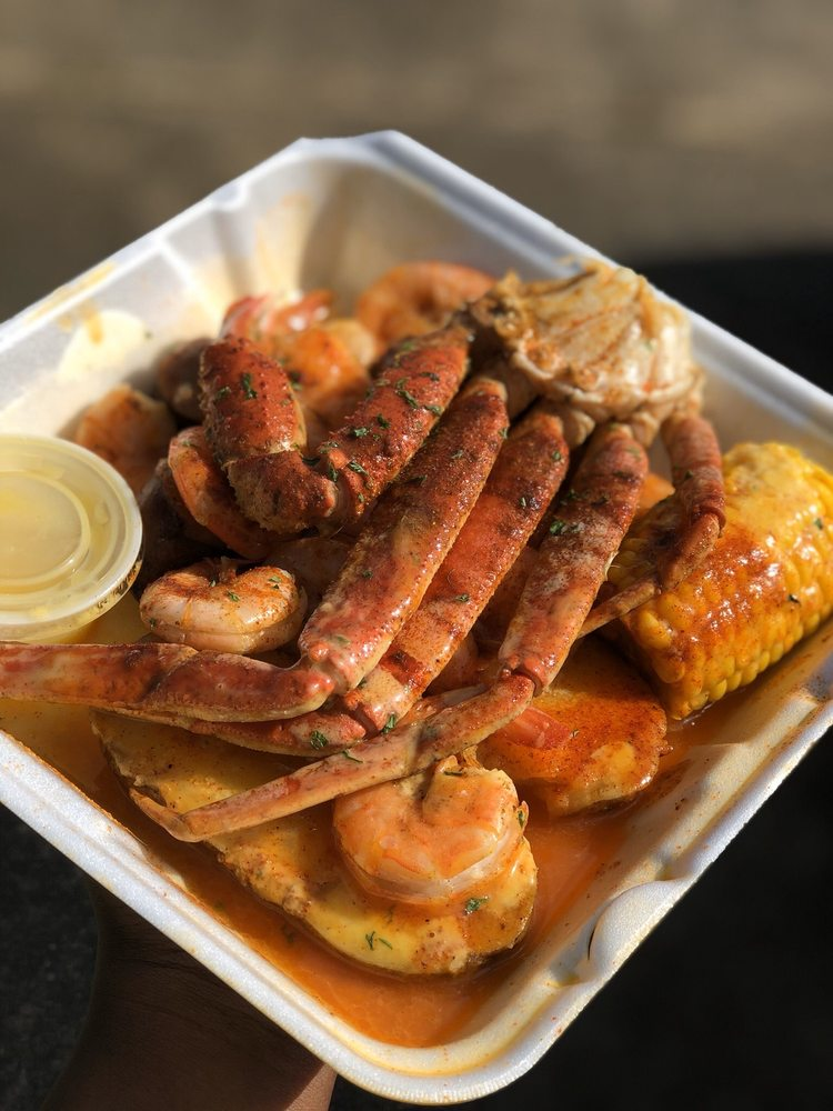 Food from The Seafood Shack