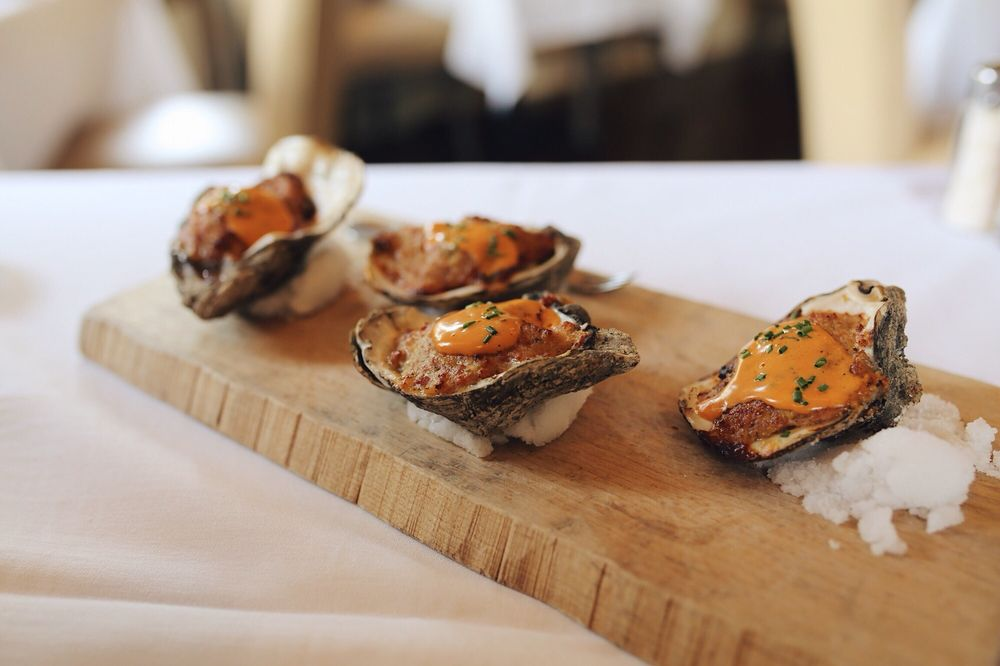 Baked Oysters Jean Saint Malo - Yelp