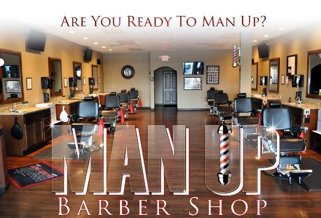 Man Up Barber Shop Huber Heights: 4444 Powell Rd, Huber Heights, OH