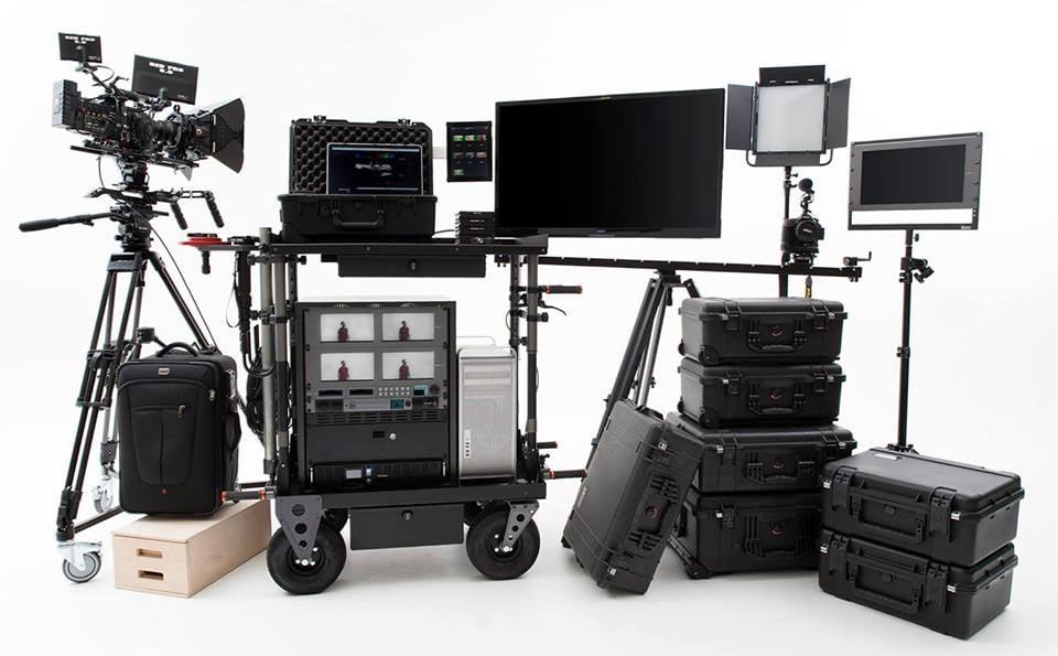 RED Epic Dragon camera package  4K monitor, LED lite panels, DIT