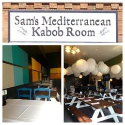 Sam S Mediterranean Kabob Room