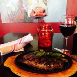 Photo Of The Patio Restaurant   Yuma, AZ, United States. Grilled Ribeye  Steak