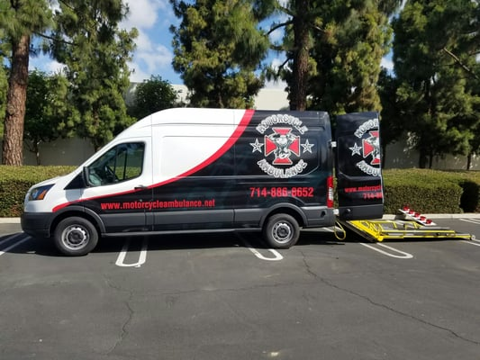 Motorcycle Ambulance 9852 Katella Ave Ste 175 Anaheim CA