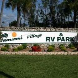 Tamiami Village Amp Rv Park Rv Parks 16555 N Cleveland