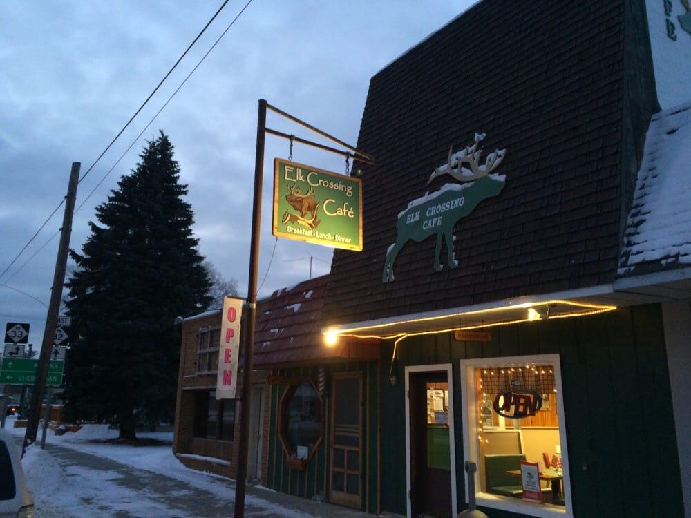 Killion's Elk Crossing Cafe: 12429 State St, Atlanta, MI