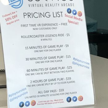Survios Virtual Reality Arcade - 87 Photos & 62 Reviews