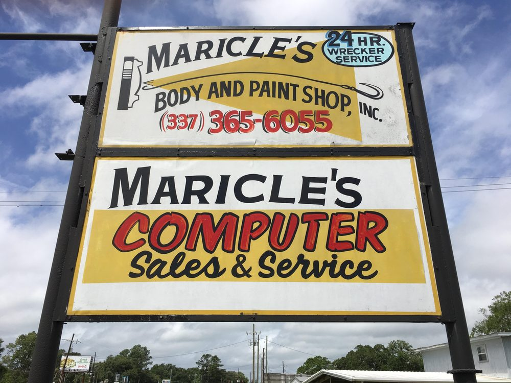 Maricle's Body & Paint Shop: 1804 Center St, New Iberia, LA