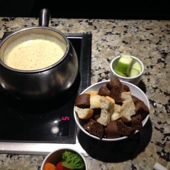 I really love The Melting Pot. We came here for a family night out. We had booked a Reservation. I don't know any other restaurant in Edmonton that cater to Fondue. Located in South Edmonton. Calgary Trail. The Melting Pot Specialty in Melted Hot Cheese Fondue, Chocolate And Hot Cheese Soup Broth Fondue. I only had Fondue in Banff, AB/5().