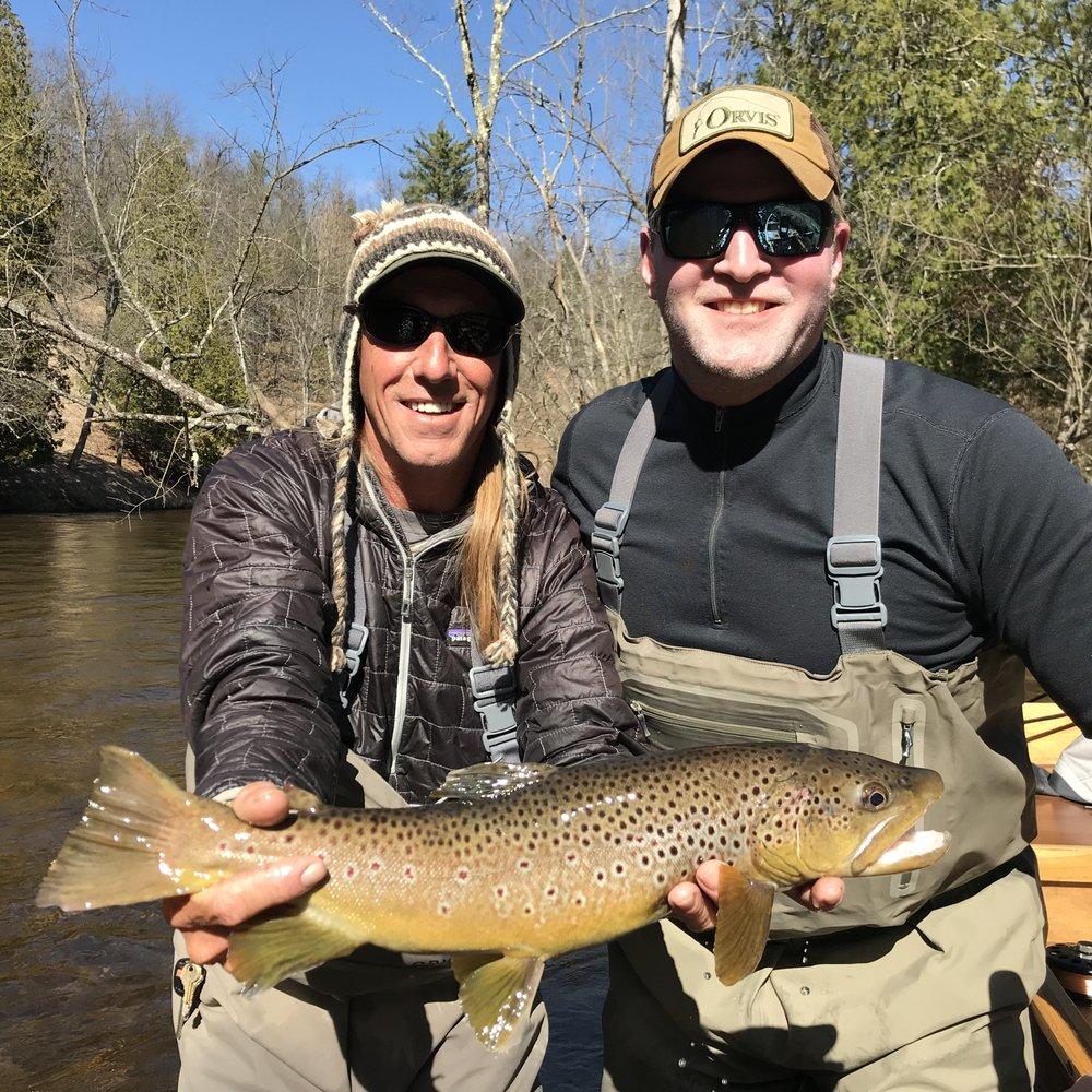 Pere Marquette River Lodge: 8841 S M-37, Baldwin, MI