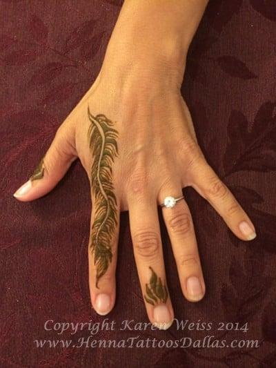 Henna feather yelp for Henna tattoo richardson tx