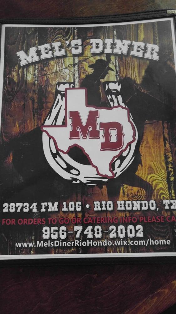 Mel's Diner: 28734 Fm 106, Rio Hondo, TX