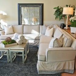 Superb Photo Of Quatrine Custom Furniture   Birmingham, MI, United States.  Slipcovered Sienna Sectional ...