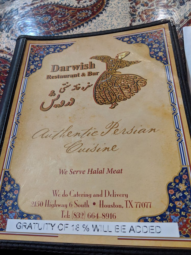 Online Menu Of Darwish Restaurant Restaurant Houston Texas