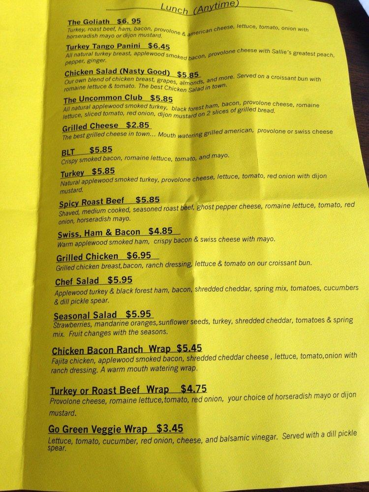Common Ground Cafe: 1481 Chestnut St, Orangeburg, SC