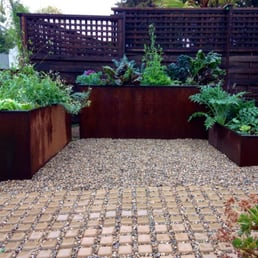 Metal Raised Garden Boxes Planters Yelp