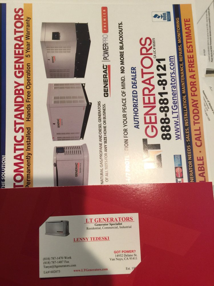 LT Generators - 11 Photos & 24 Reviews - Generator