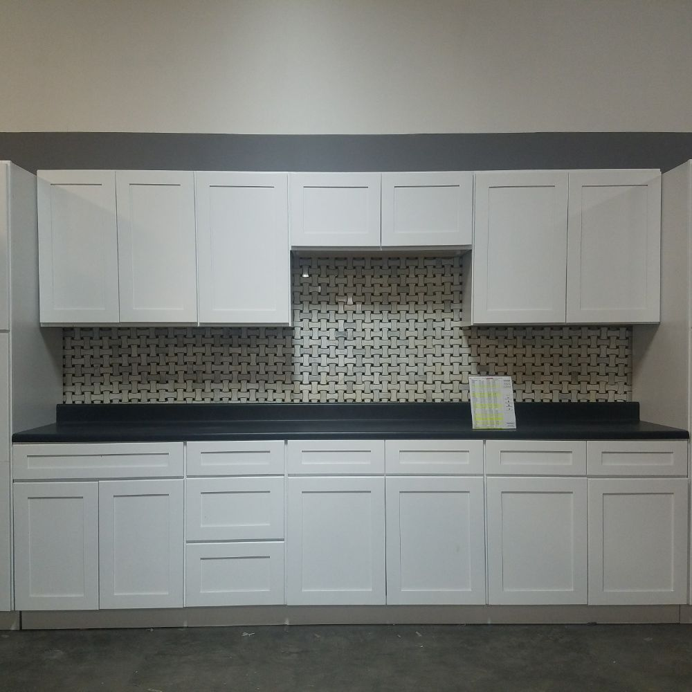 Kitchen Cabinets San Antonio Tx: 20% Off New, White Shaker Kitchen Cabinets Until The End