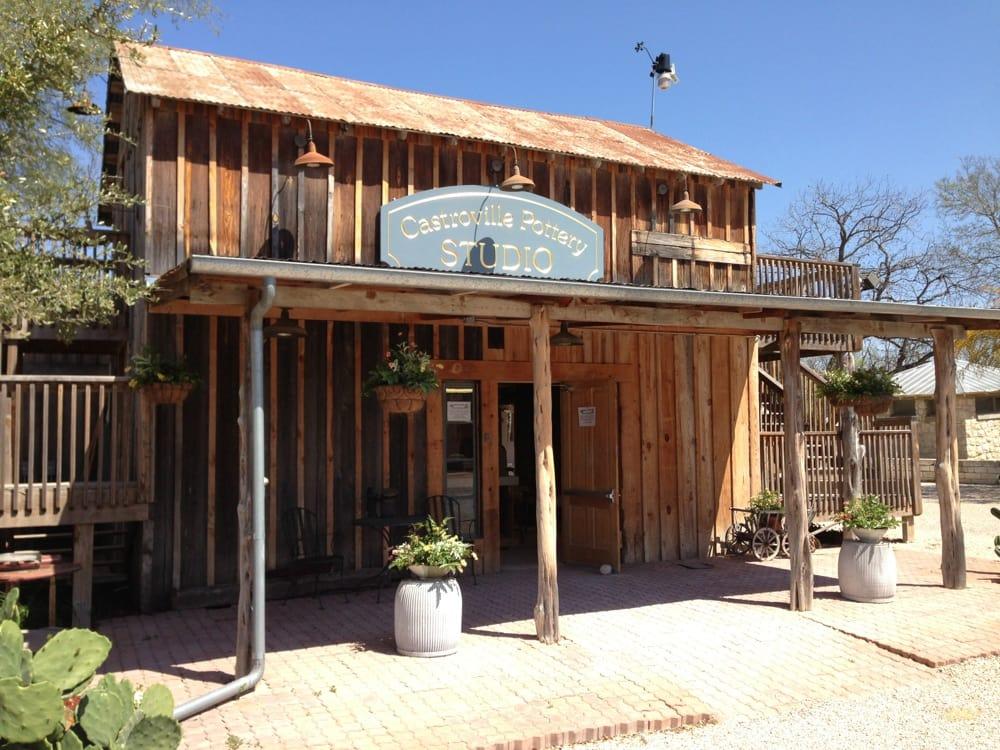 Castroville Pottery: 1215 Fiorella St, Castroville, TX