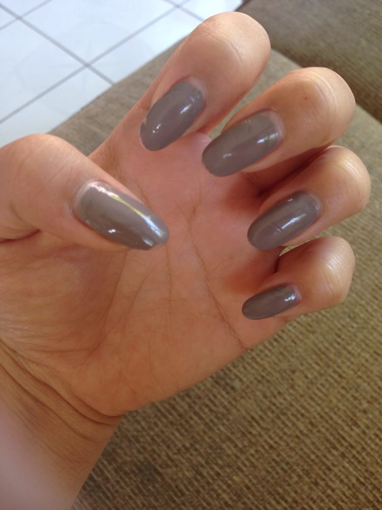 2 month old nails! Got them done on march 13. Nail color is from ...