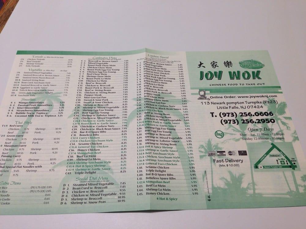 Chinese Restaurant In Little Falls Nj