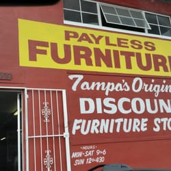 Photo Of Payless Furniture   Tampa, FL, United States. Outside, Walking In