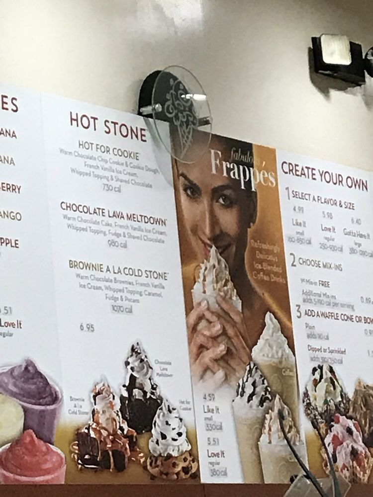 Cold Stone Creamery: 499 N Service Rd, Patchogue, NY
