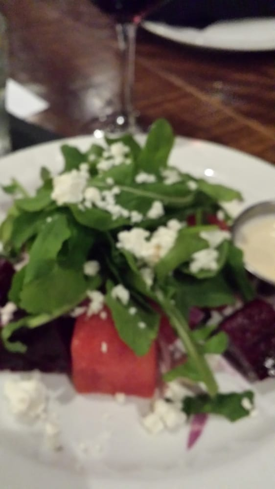 My watermelon and red beet salad deliciosa yelp for 13 american table boca raton