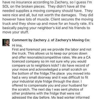 Zachery's Moving Co - 138 Photos & 28 Reviews - Movers