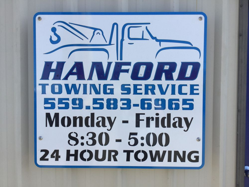 Towing business in Hanford, CA