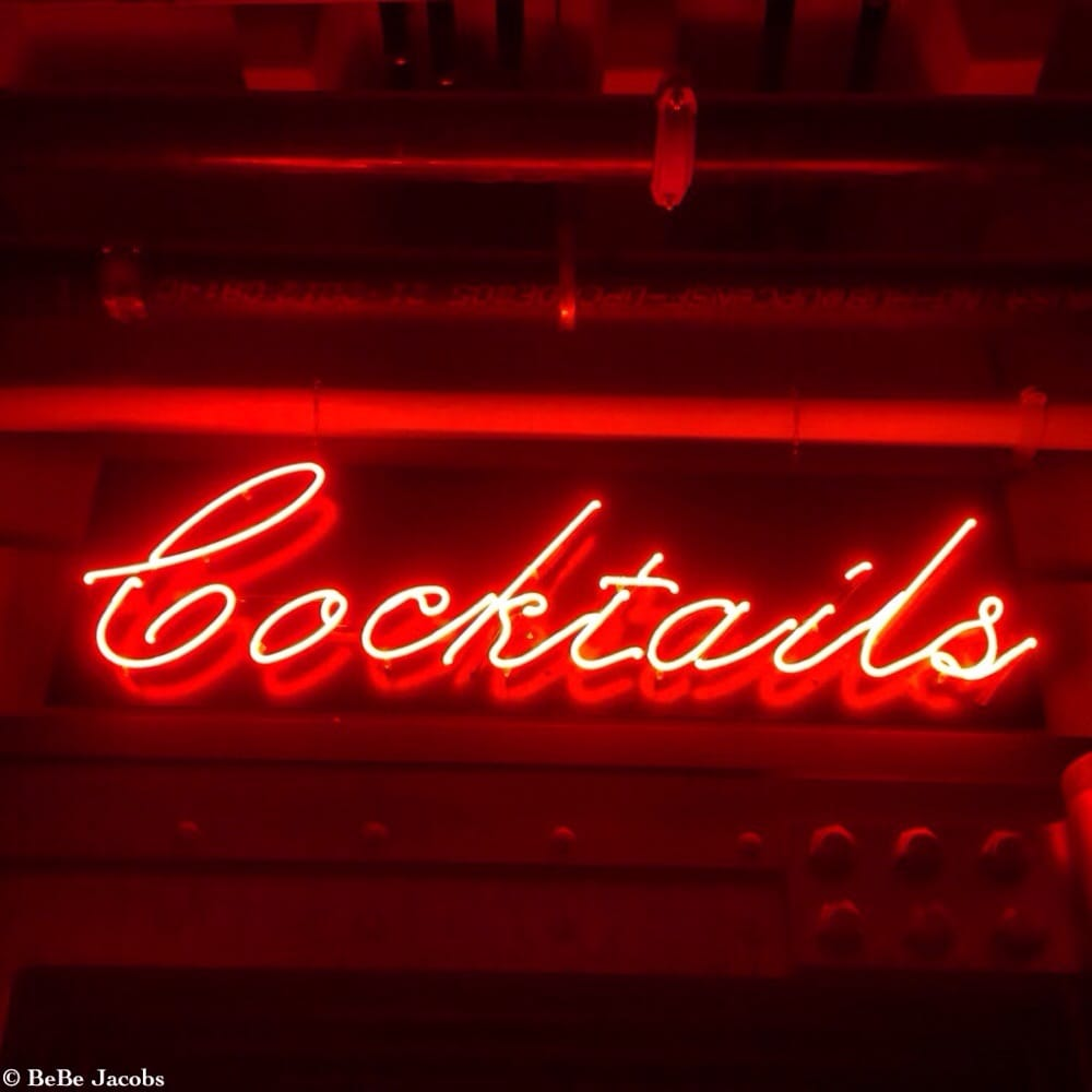Photo of Crane\u0027s Bar Downtown - Los Angeles CA United States. Neon Cocktail  sc 1 st  Yelp & Neon Cocktail sign above the entrance door of Crane\u0027s Bar. - Yelp
