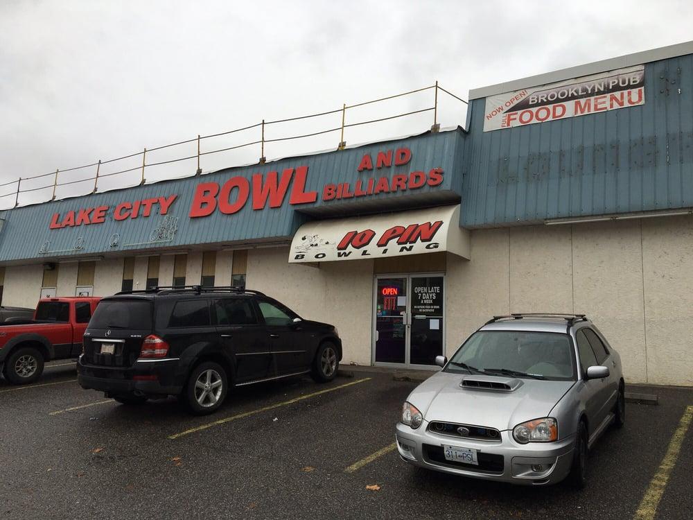 Lake city bowl billiards bowling 2789 highway 97 n for Affitti di cabina okanagan bc