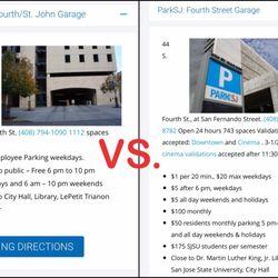 4th St John Garage Parking 50 N 4th St Downtown San Jose Ca